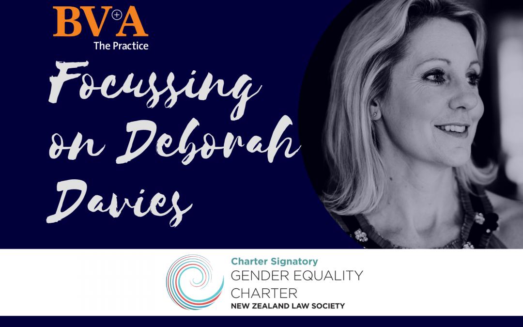 Focussing on Deborah Davies
